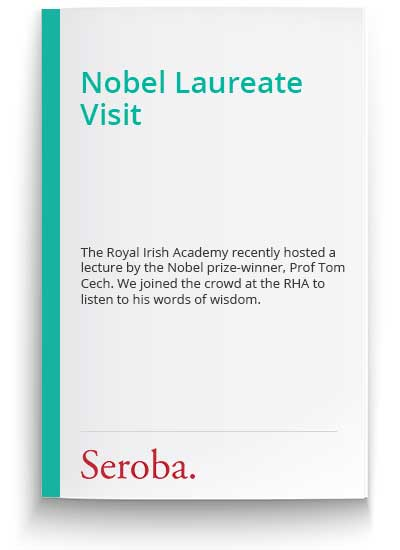 Nobel Laureate Visit